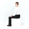 Seated Dress Pant Elastic Waist
