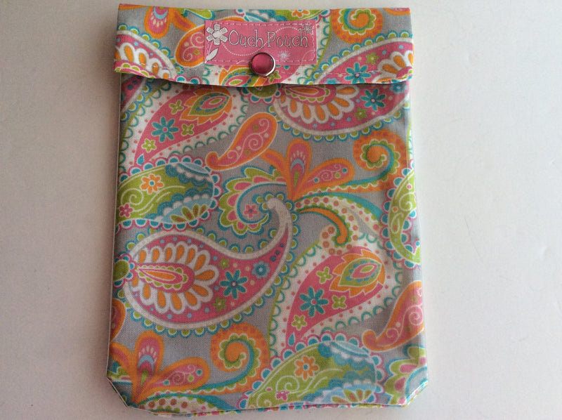 Pink Paisley Ouch Pouch Set