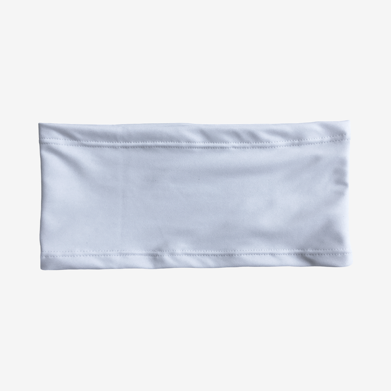White Stretch Waistband (Mild Compression)