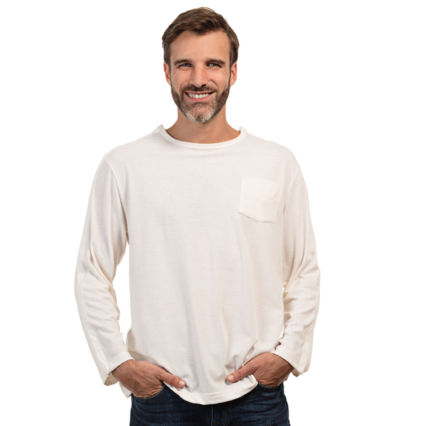 Men's Long Sleeve Adaptive Shirt