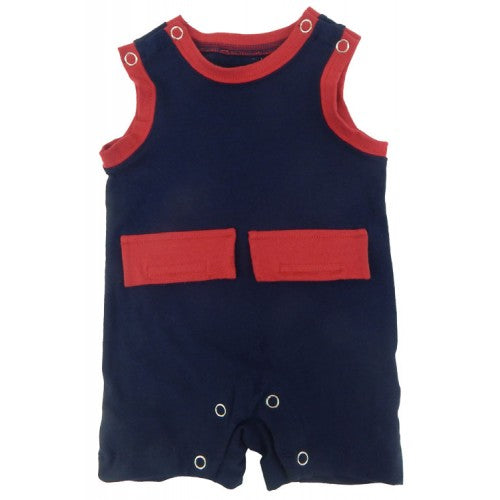 Boys Kozie Medical And G-Tube One-Piece Shorts - The Nathan