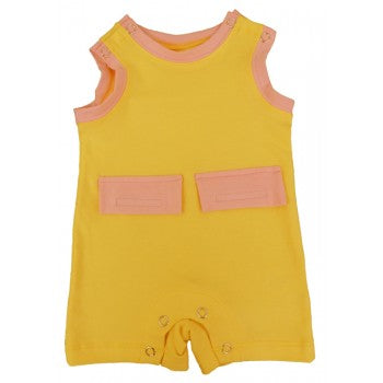 Girls Kozie Medical And G-Tube One-Piece Shorts - The Olivia
