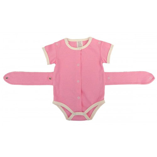 Girls Kozie Medical and G-Tube One-Piece Bodysuit - The Susie