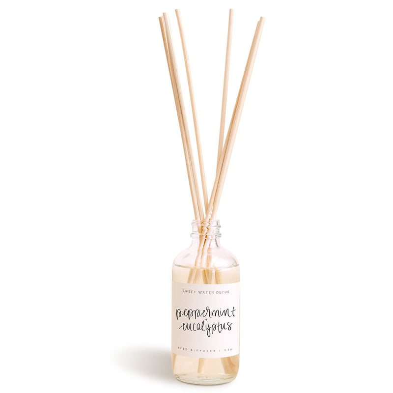 Peppermint and Eucalyptus Reed Diffuser
