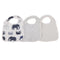In The Wild Elephant Snap Bibs Set of 3