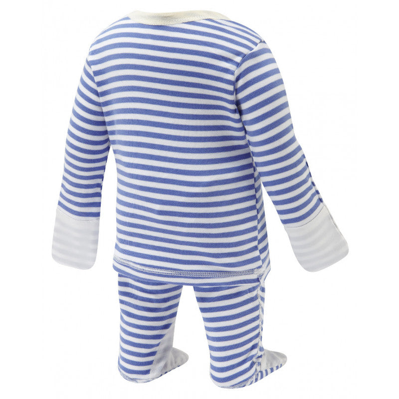 Blue Stripes ScratchSleeves Pajama Set