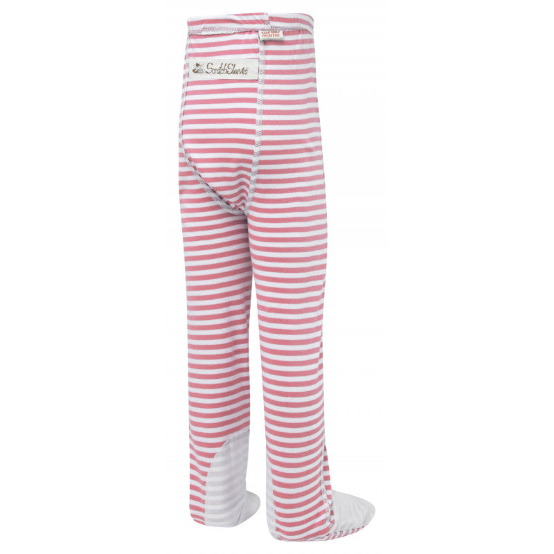 Pink Stripes ScratchSleeves Pajama Bottom