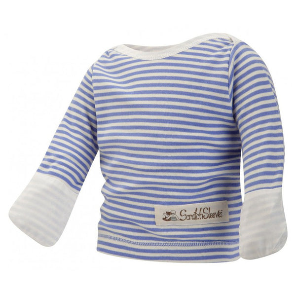 Blue Stripes ScratchSleeves Pajama Top