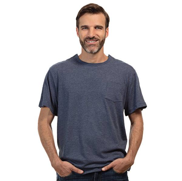 Men's Short Sleeve Adaptive Shirt