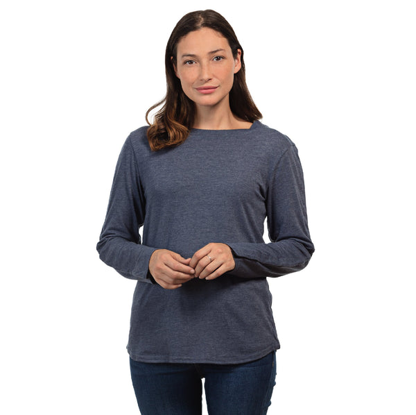 Women's Long Sleeve Adaptive Shirt
