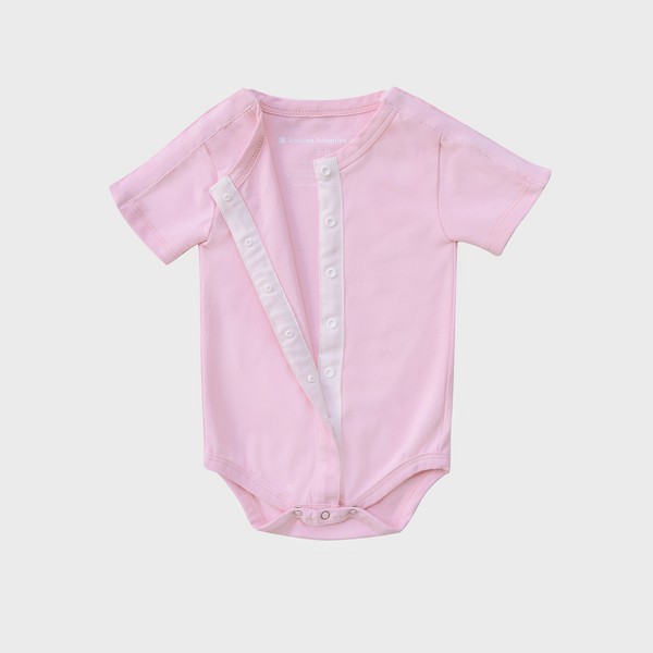 Pink Tube + Cath Vertical Access Bodysuit (Shortsleeve)
