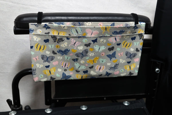 Butterflies Medium, Multiple Pocket Arm Rest Bag
