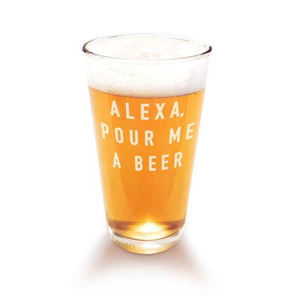Alexa, Pour Me A Beer Glass