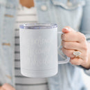 She Believed She Could So She Did Metal Coffee Mug