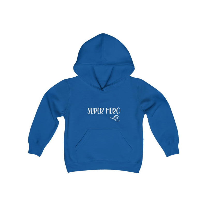 Super Hero Youth Hooded Sweatshirt