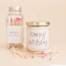 Multicolor Rainbow Matches - Glass Jar-Matches-Sweet Water Decor-Sweet Water Decor-Motivational-Chic-Rustic-Home-Office-Decor-Hand-Lettered-Wholesale