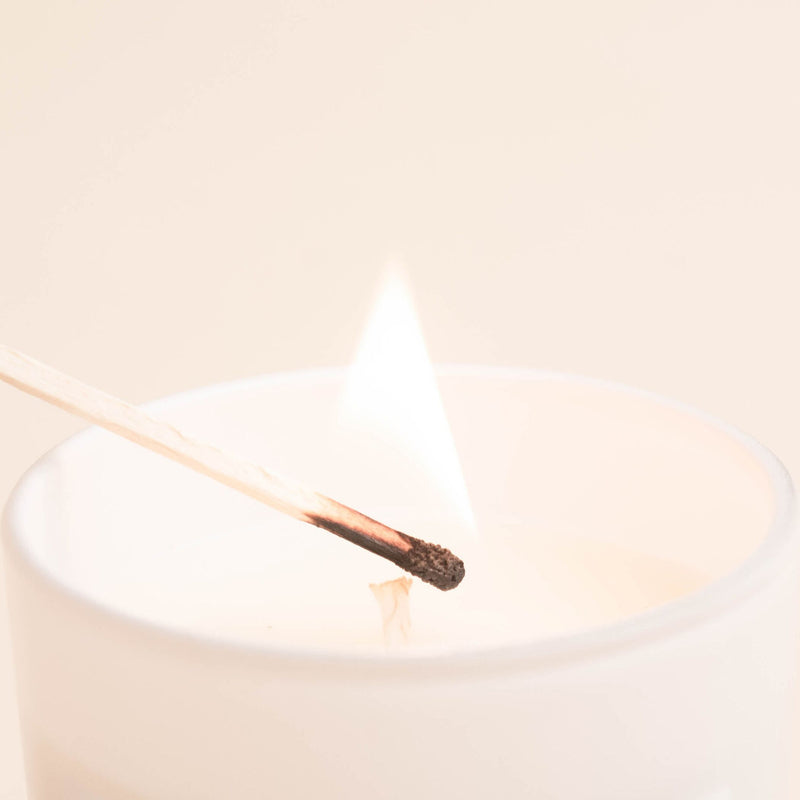 Whipped Pear Soy Candle | White Jar Candle