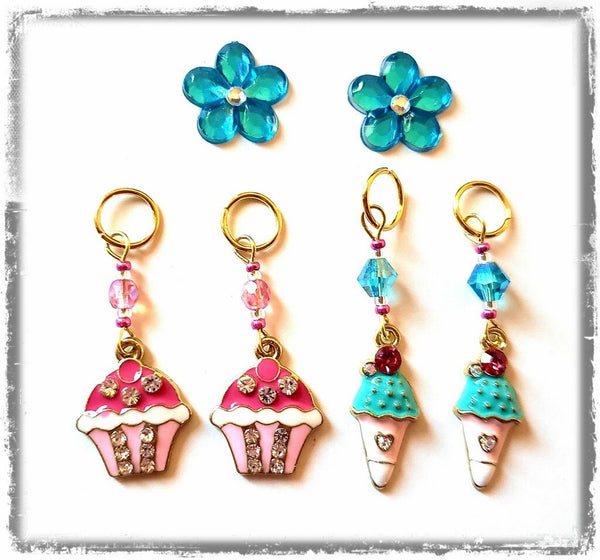 Sweet Dessert Hearing Aid Charm Set