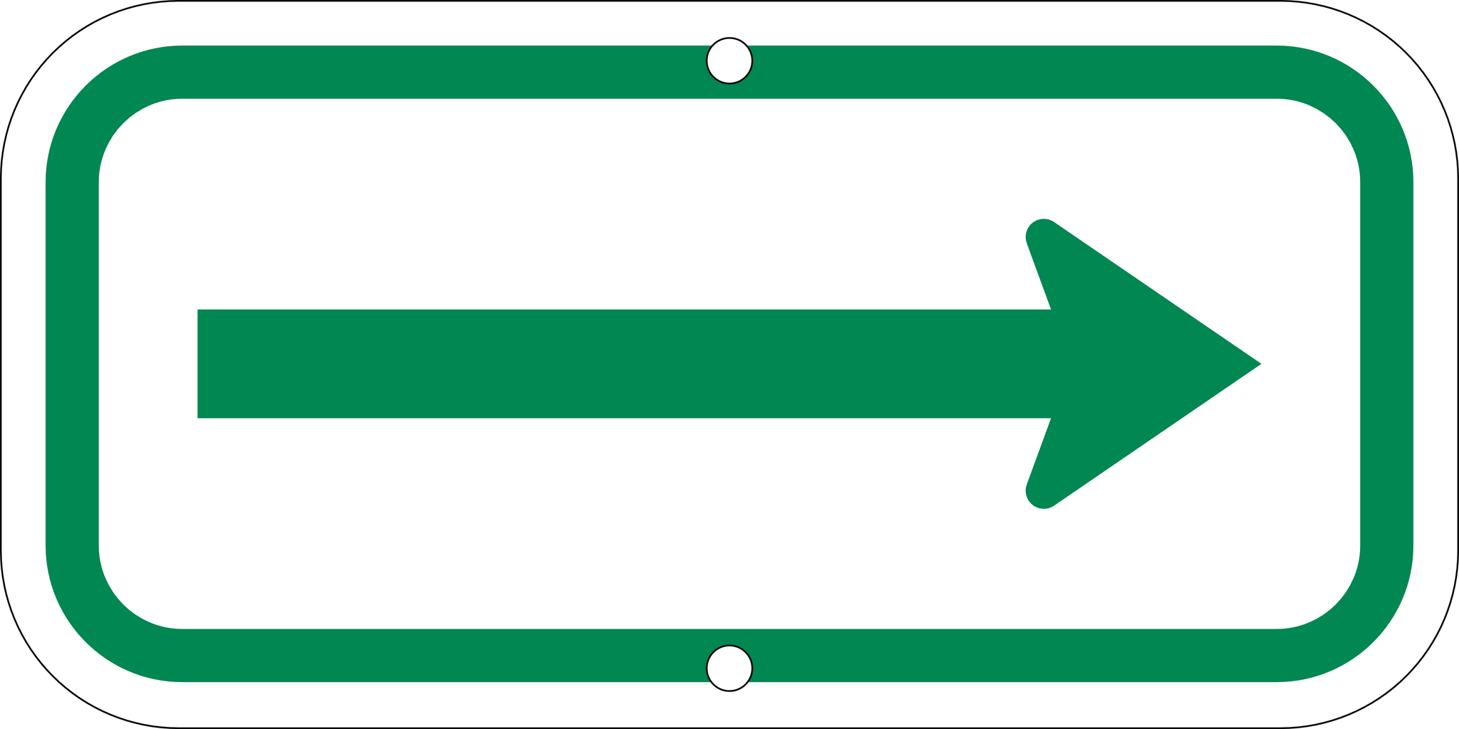 Single Arrow Signs