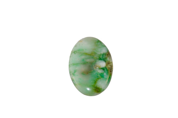 Chrysoprase cabochon - Amour mineral
