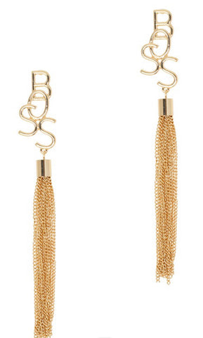 BOSS Tassel Earrings