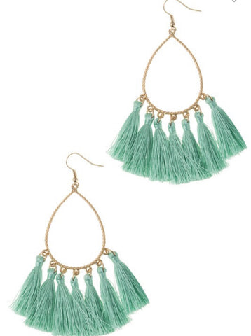 Fiesta Tassel Earrings