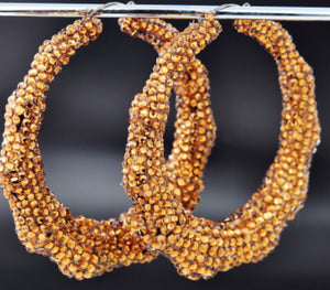Jumbo Bamboo Earrings