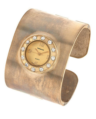 Metal Cuff Watch