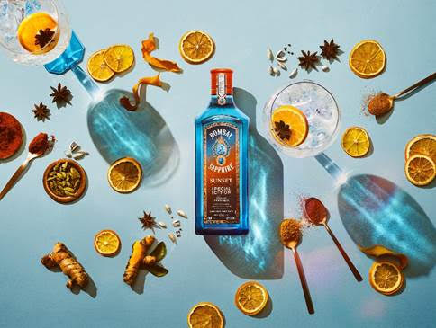 New Bombay Sapphire Sunset Limited edition