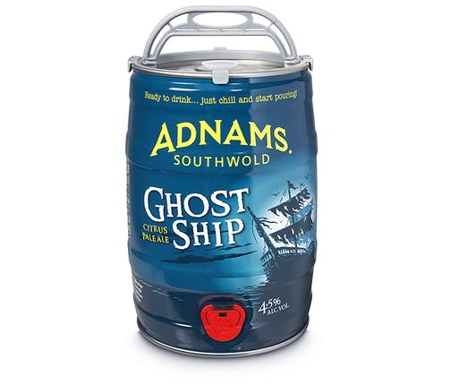 Adnams Ghost Ship Mini-Keg 5l - Cheapest Drinks Online