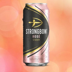Strongbow Rosé Cider Cans 24 x 440ml Case - Drink Station UK