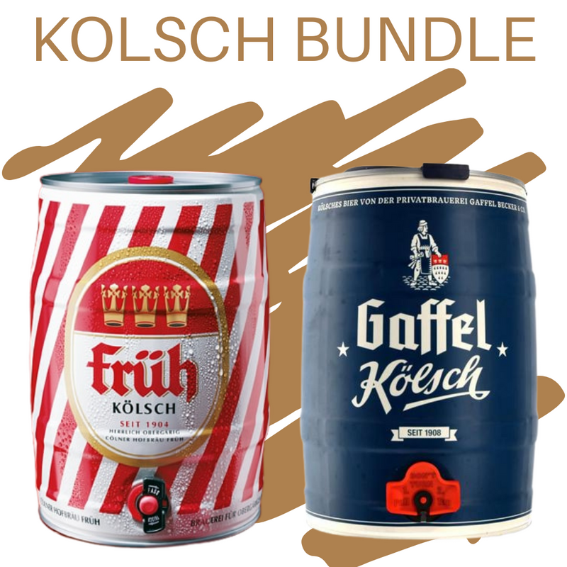 Kolsch 5l Mini Keg Bundle - Shop Mini Kegs