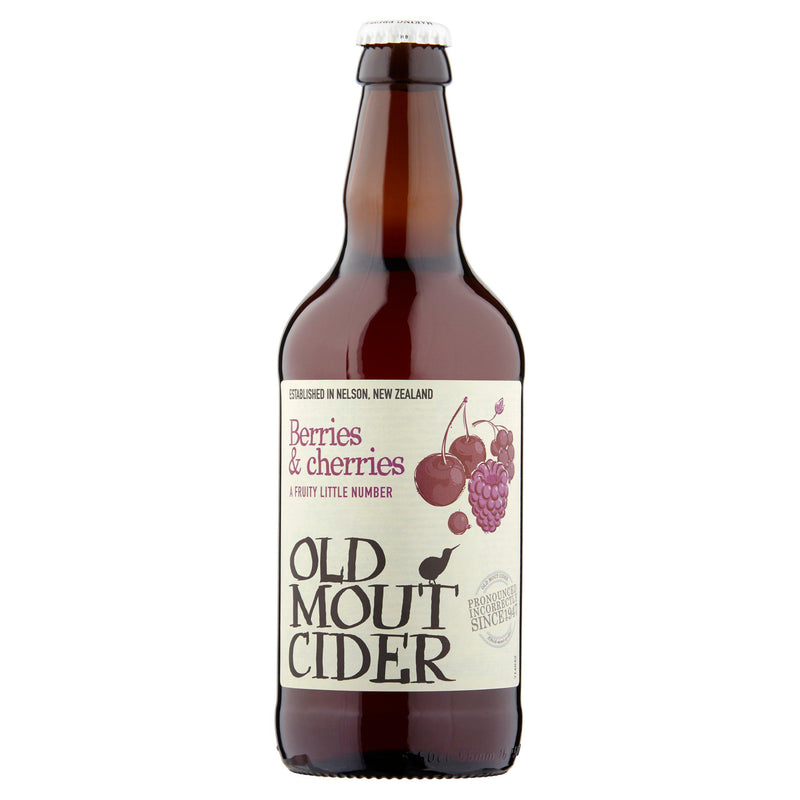 Old Mout Berries & Cherries 500ml - Cheapest Drinks Online