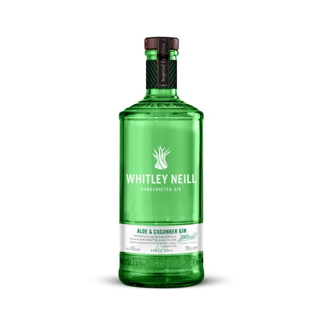 Whitley Neill Aloe and Cucumber Gin 70cl - Cheapest Drinks Online