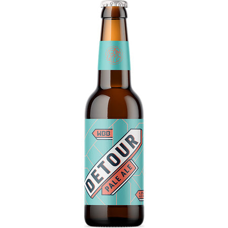Detour Pale Ale 330ml Bottles x 12 Case
