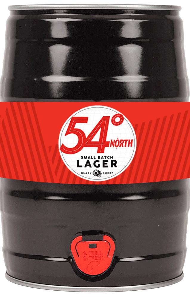 54 Lager Mini Keg 5l - SHORT DATE - Shop Mini Kegs