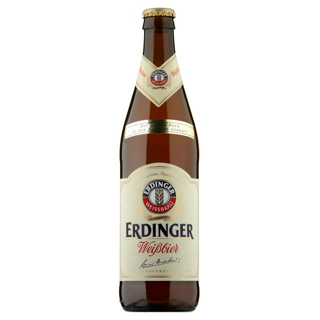 Erdinger Weissbier German Wheat Beer 500ml x 12 Case - Shop Mini Kegs