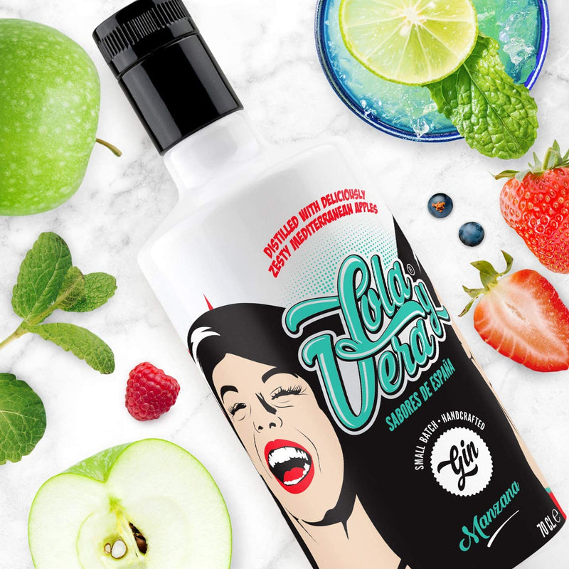 Lola & Vera Apple Gin 70cl - Shop Mini Kegs
