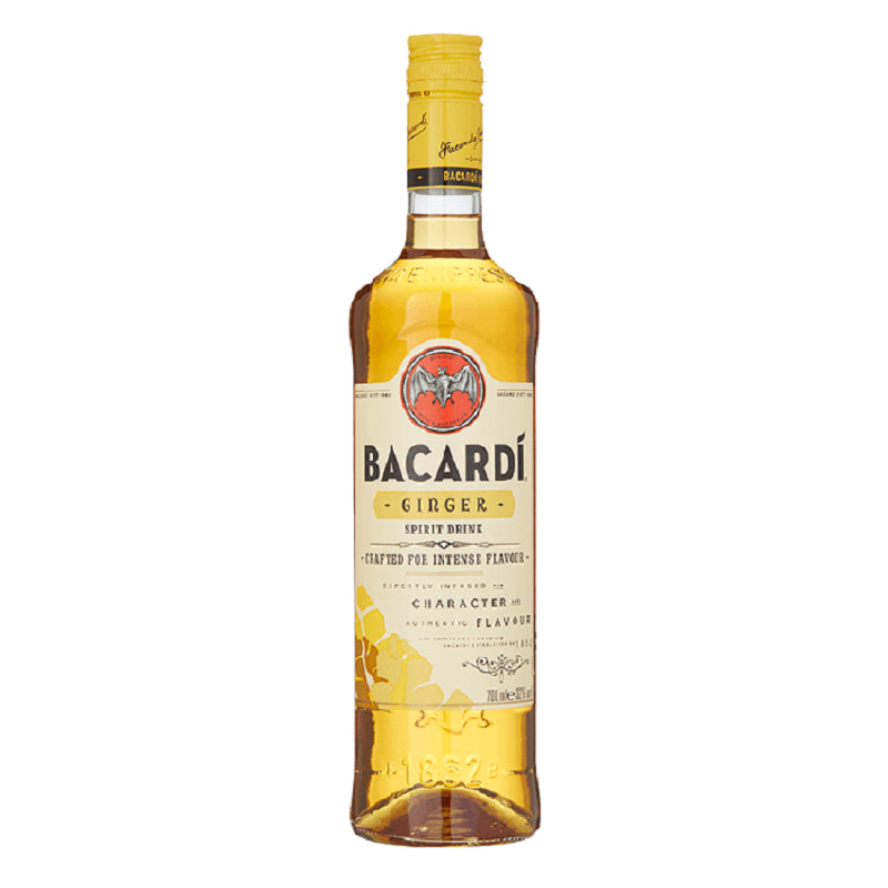 Bacardi Ginger Rum 70cl - Cheapest Drinks Online