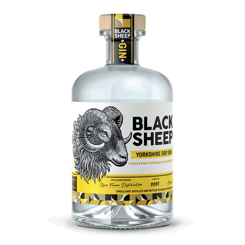 Black Sheep Yorkshire Dry Gin 70cl