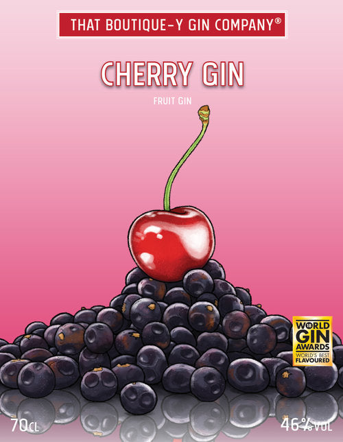 That Boutique-y Gin Company Cherry Gin 70cl - Cheapest Drinks Online