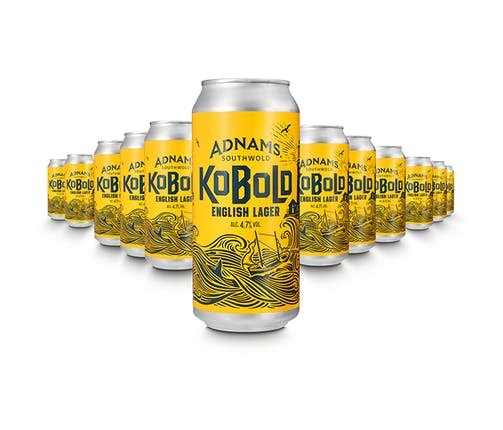Adnams Kobold English Lager Cans 12 x 440ml