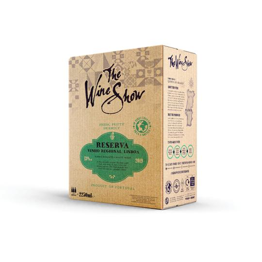 The Wine Show Lisboa Reserva 2.25 L Box - Shop Mini Kegs