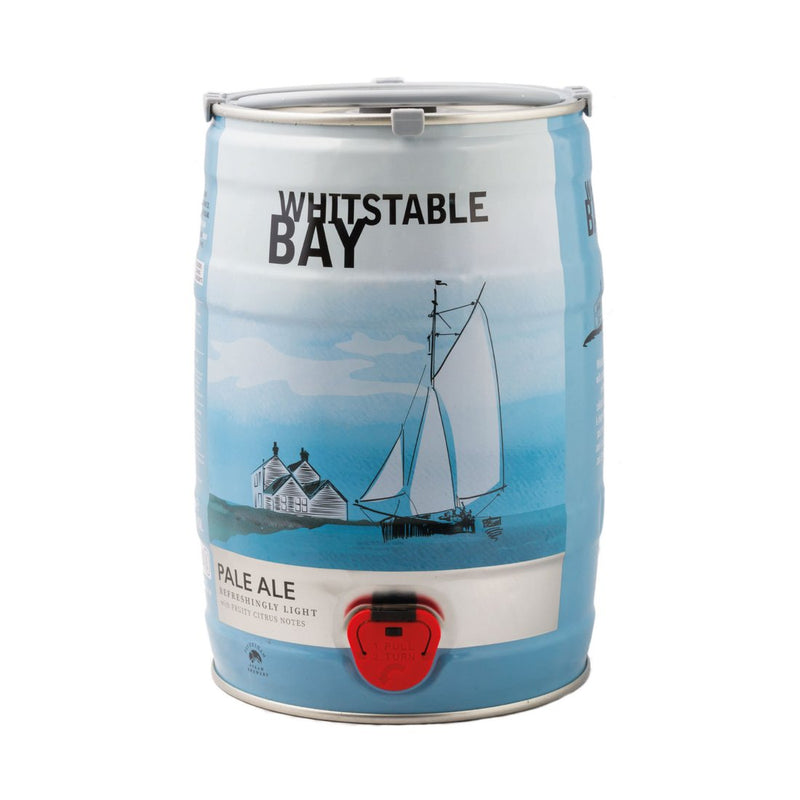 Whitstable Bay Pale Ale 5L Mini Keg - Shop Mini Kegs