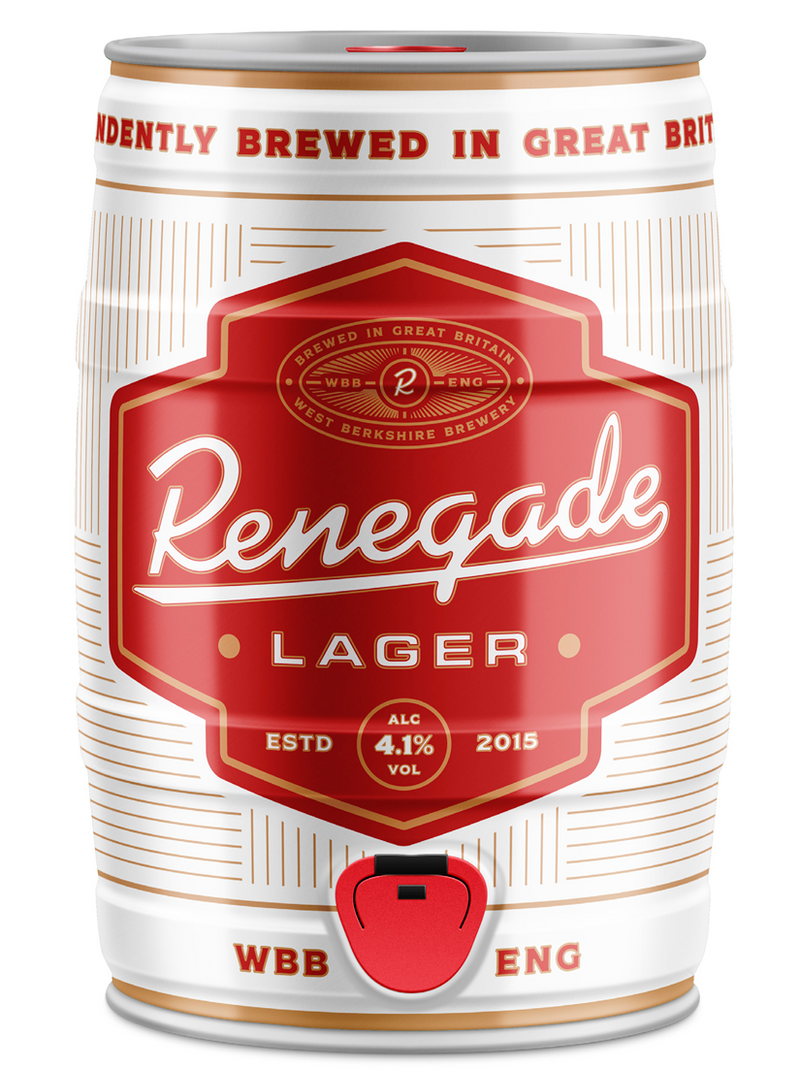 Renegade Lager - West Berkshire Brewery