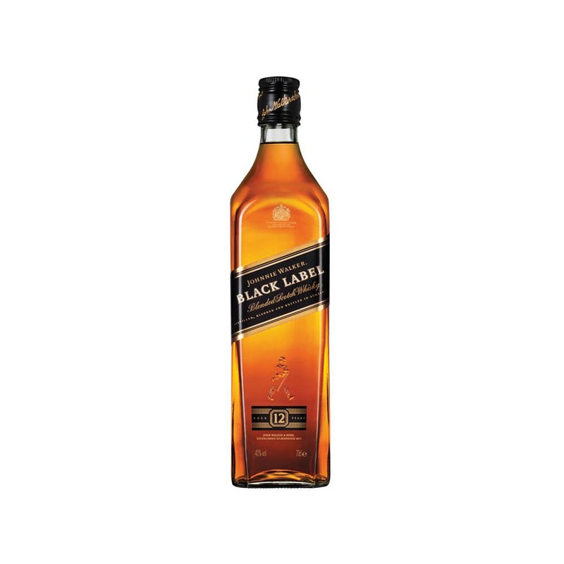 Johnnie Walker Black Label Blended Scotch Whisky 70cl - Cheapest Drinks Online