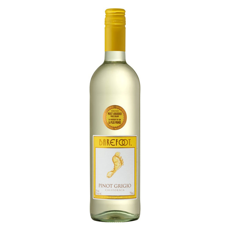 Barefoot Pinot Grigio 75cl - Cheapest Drinks Online