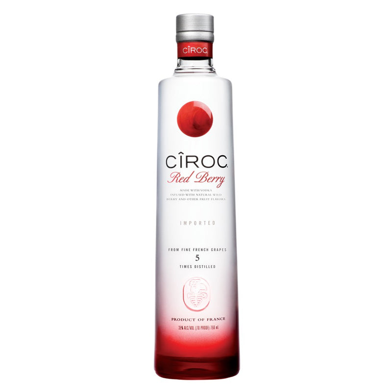 Ciroc Red Berry Flavoured Vodka 70cl - Cheapest Drinks Online