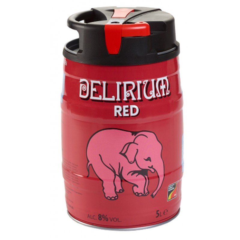Delirium Red Mini Keg 5L - Shop Mini Kegs