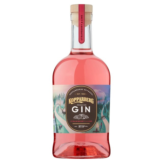 Kopparberg Strawberry & Lime Gin 70cl - Shop Mini Kegs